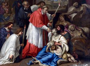 San Carlo durante la peste